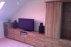 Fitted Bedroom TV System